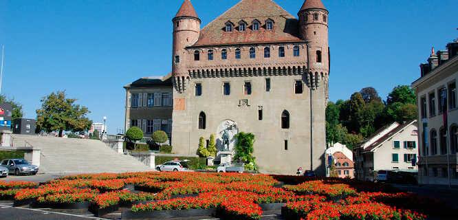 Château Saint-Maire, Lausanne, Switzerland