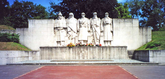 Monument to the Sons of Verdun, Verdun Memorial, Verdun, France