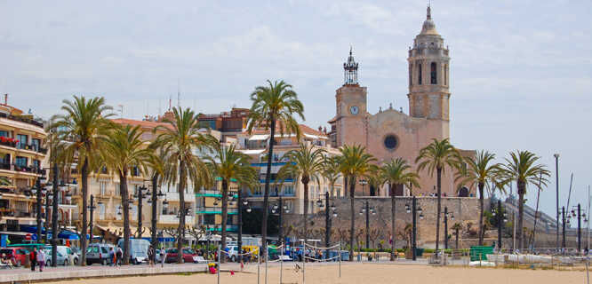 Sant Bartomeu i Santa Tecla Church, Sitges, Spain