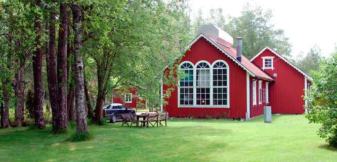 Transjö Hytta glass studio, Transjö, Sweden