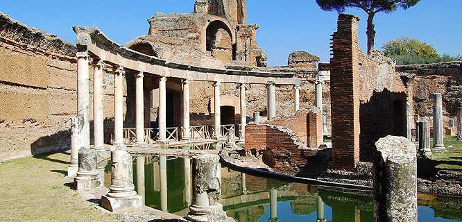 Hadrian's Villa, Tivoli, Italy