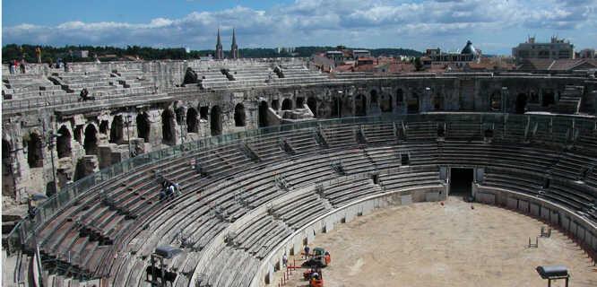 Arena, Nîmes, France