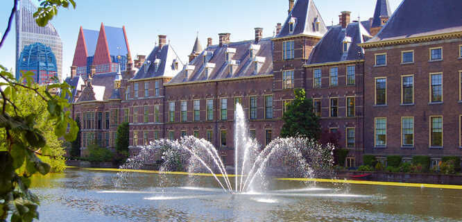 Dutch Parliament, The Hague, Netherlands