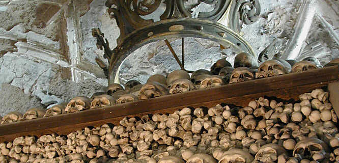 Sedlec Bone Church, Kutná Hora, Czech Republic