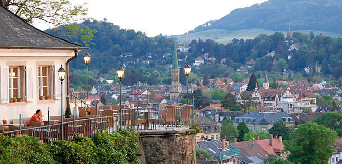Schlossberg viewpoint, Freiburg, Germany
