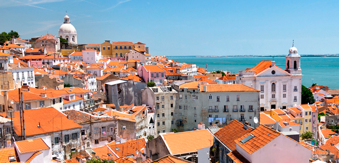 Alfama district, Lisbon, Portugal