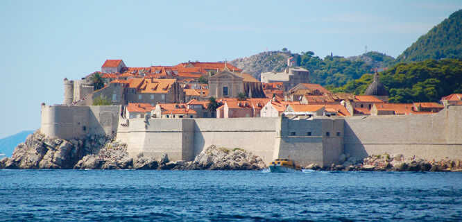 Town walls of Dubrovnik, Croatia