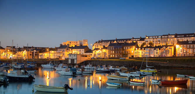 Portrush harbor, Northern Ireland