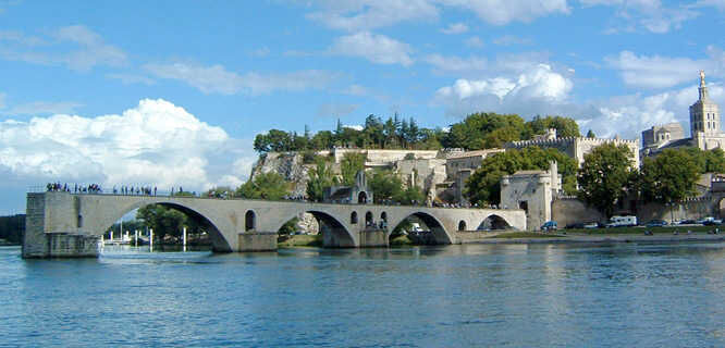 St. Bénezet Bridge, Avignon, France