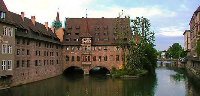 Holy Ghost Hospital, Nürnberg, Germany