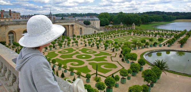 Gardens at Château de Versailles, France