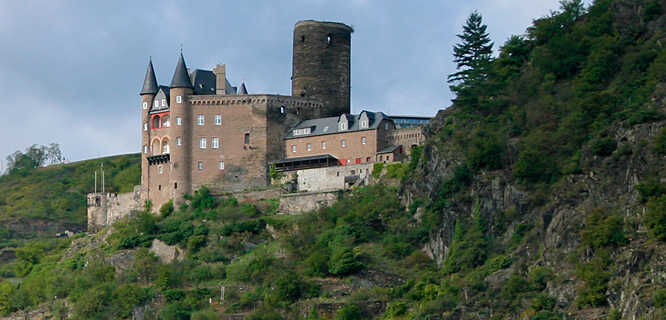 Burg Katz, Rhine Valley, Germany