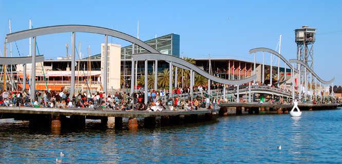Port Vell, Barcelona, Spain
