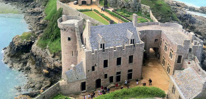 Fort-la-Latte castle, near St-Malo, France