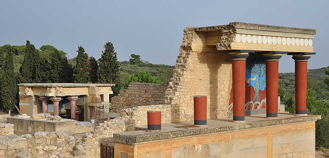 Palace of Knossos, Iraklio, Crete, Greece