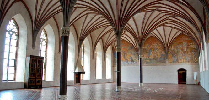 Inside Malbork Castle, Pomerania, Poland