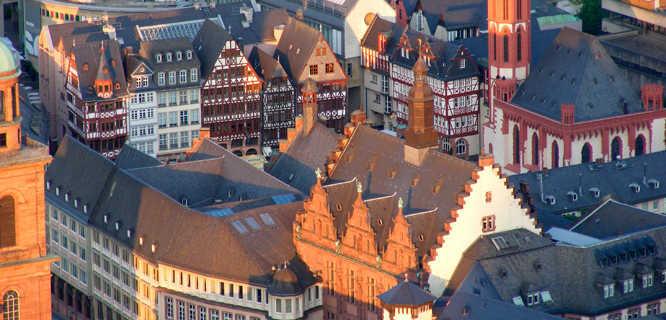 Römerberg square, Frankfurt, Germany