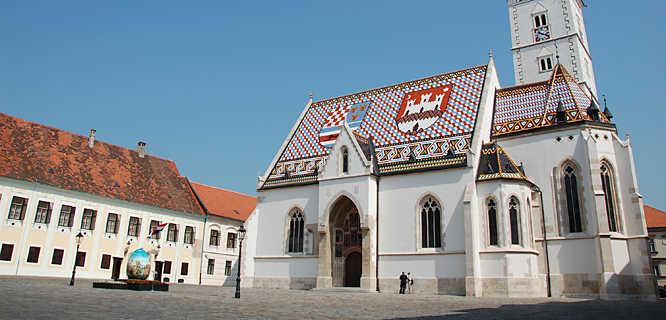 St. Mark's Church, Zagreb, Croatia