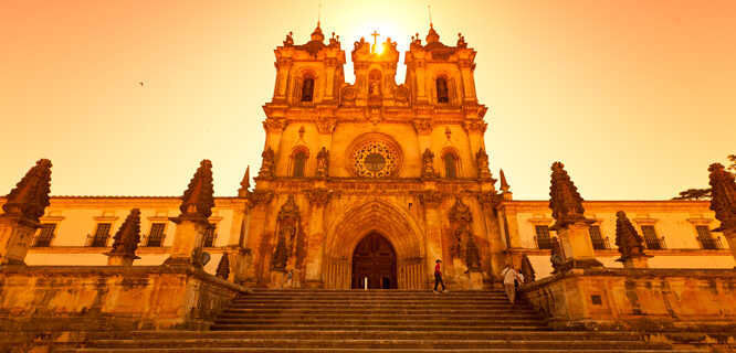 Cistercian Monastery of Santa Maria, Alcobaça, Portugal