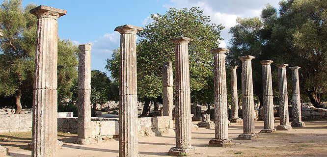 Sanctuary of Olympia, Olympia, Greece