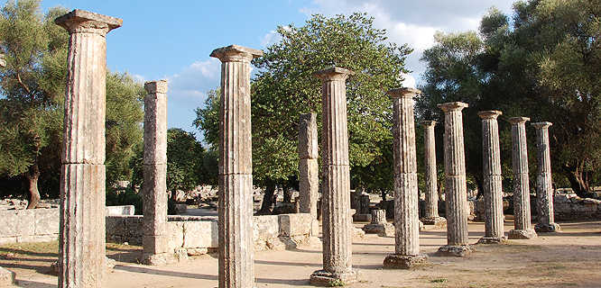 Sanctuary of Olympia, Olympia, Greece