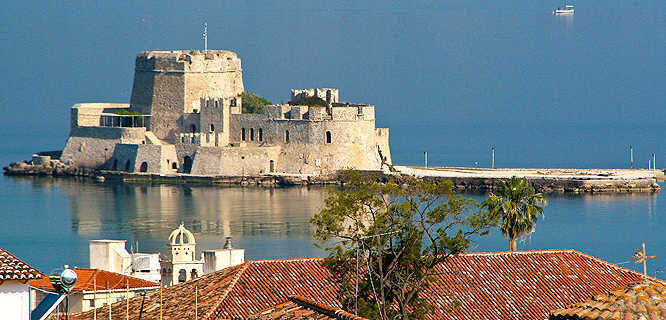 Bourtzi Fortress, Nafplio, Greece