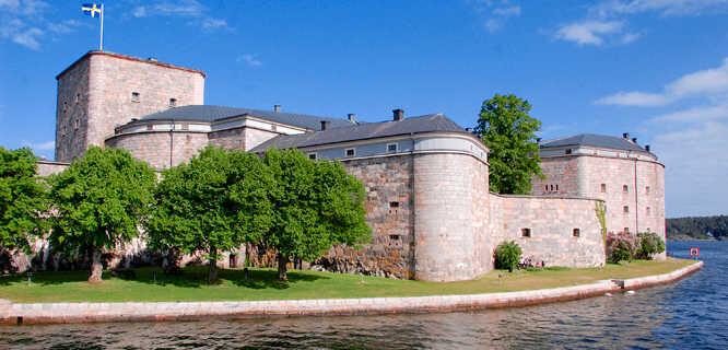 Vaxholm Fortress, Stockholm Archipelago, Sweden