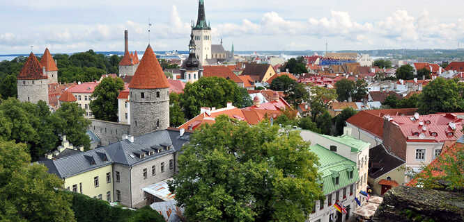 Patkuli viewpoint, Tallinn, Estonia