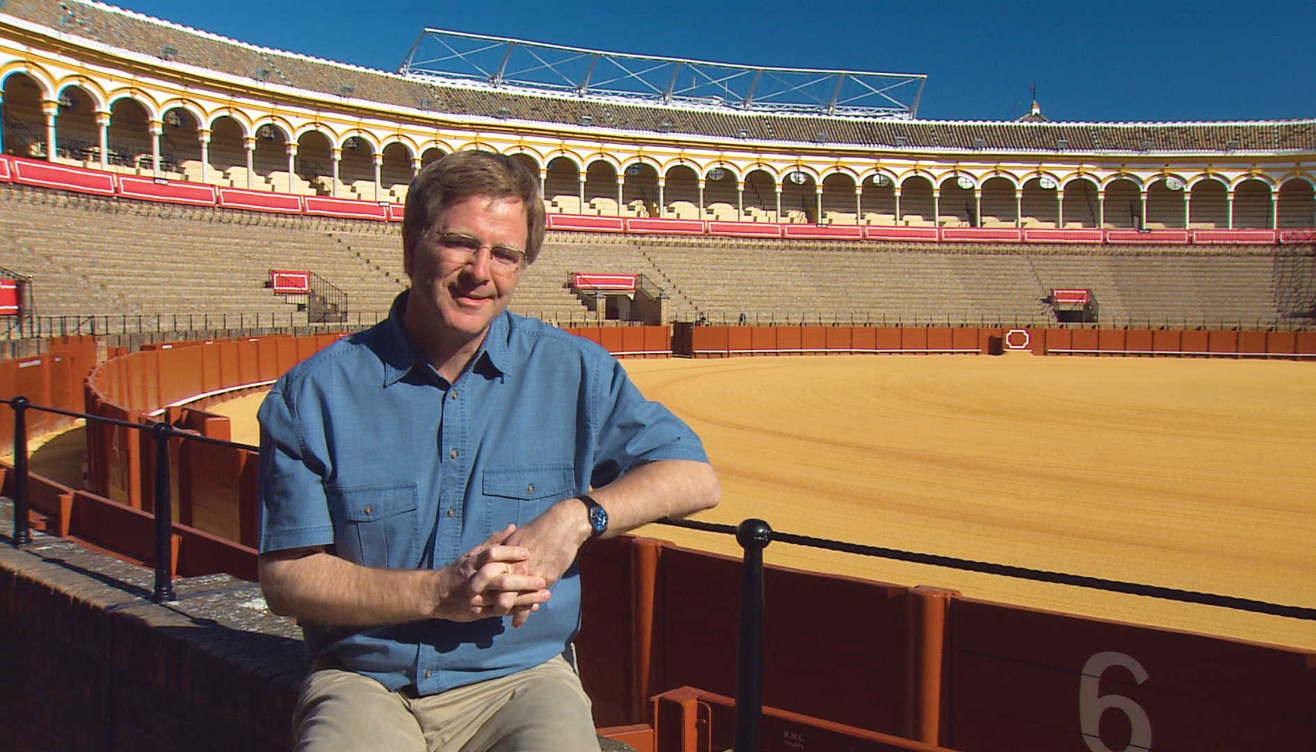 Bullfight ring in Sevilla, Spain