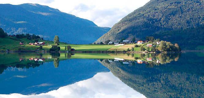 Lustrafjord (Sognefjord), Norway