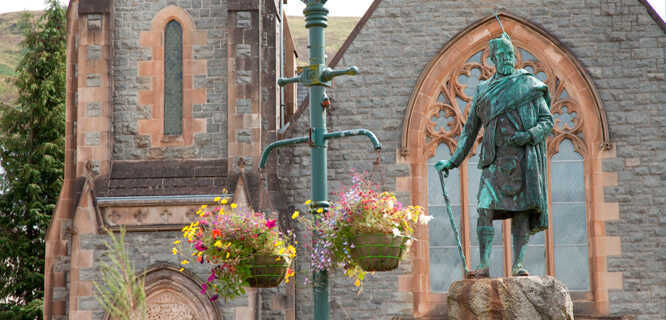 Donald Cameron statue, Fort William, Scotland