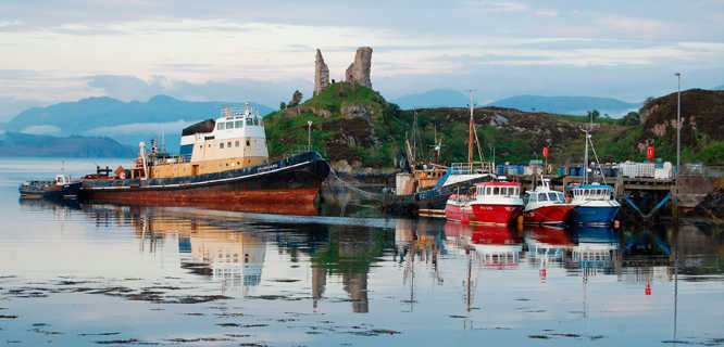 Kyleakin, Isle of Skye, Scotland