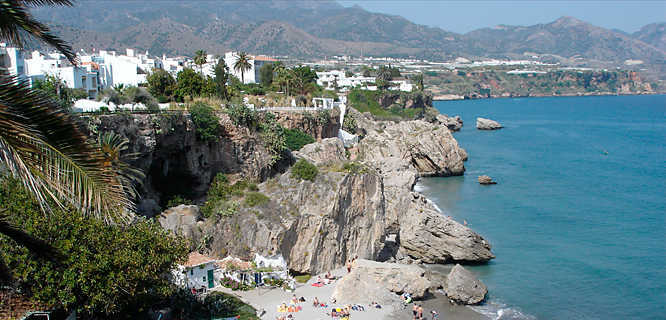 Balcony of Europe, Nerja, Spain