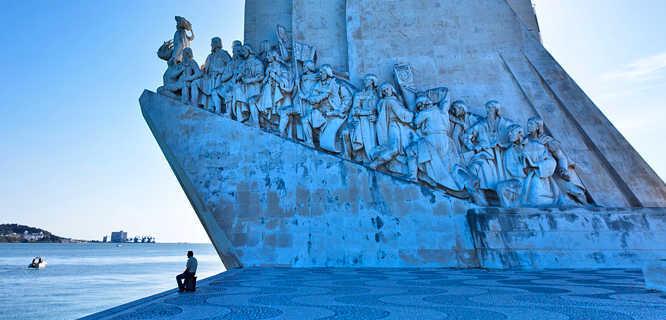 Monument to the Discoveries, Belém district, Lisbon, Portugal