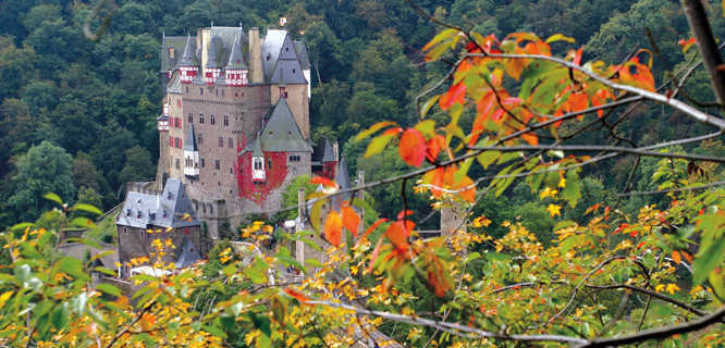 Germany austria switzerland tour burg eltz mosel valley 2014