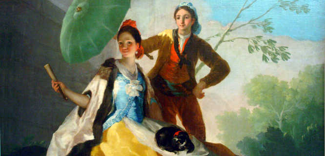 """The Parasol,"" Francisco de Goya y Lucientes, Prado Museum, Madrid"