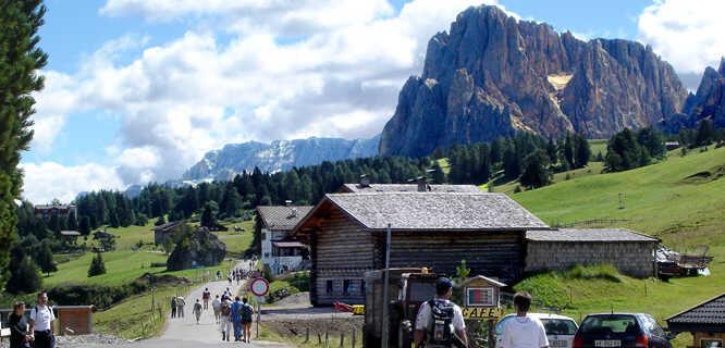Saltria, Alpe di Siusi / Seiser Alm, Dolomites, Italy