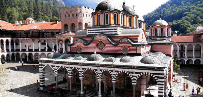 Rila Monastery, Rila Mountains, Bulgaria