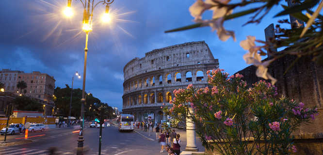 Rome tour colosseum