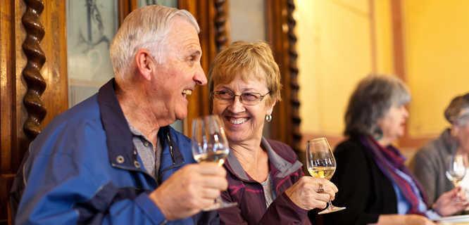 Wine tasting, Orvieto, Italy