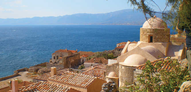 Lower Town, Monemvasia, Greece