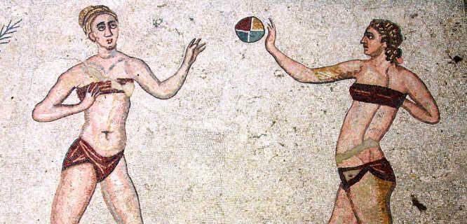 Villa Romana del Casale mosaic, Piazza Armerina, Sicily, Italy