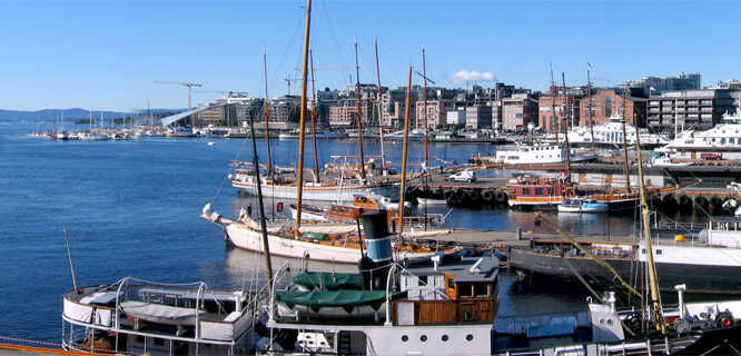 Harborfront, Oslo, Norway