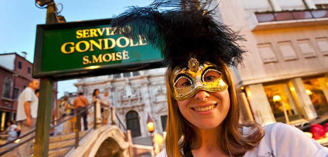 Carnevale mask, Venice, Italy