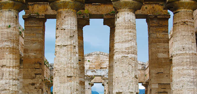 Temple of Hera II, Paestum, Italy