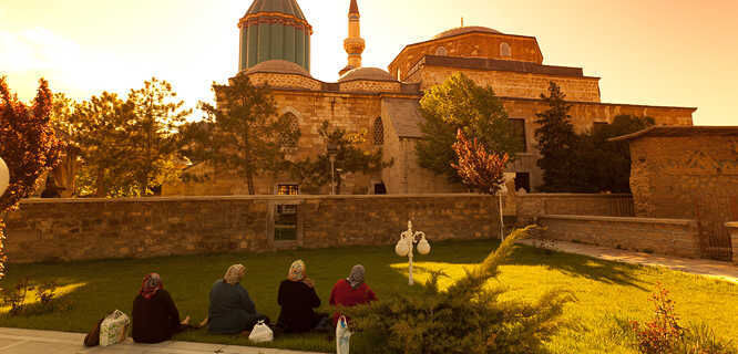 Mevlâna Museum and Rumi's tomb, Konya, Turkey
