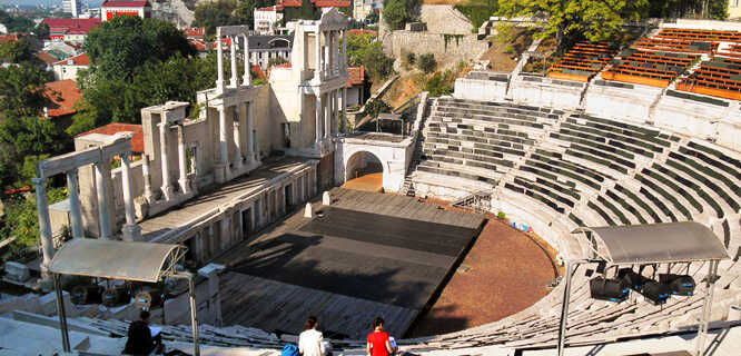 Ancient theater, Plovdiv, Bulgaria