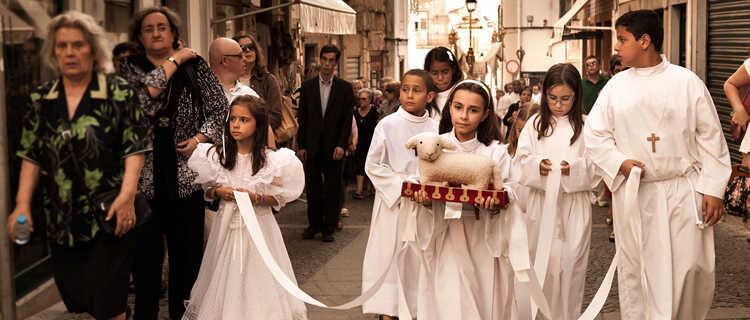 Religious procession, Évora, Portugal