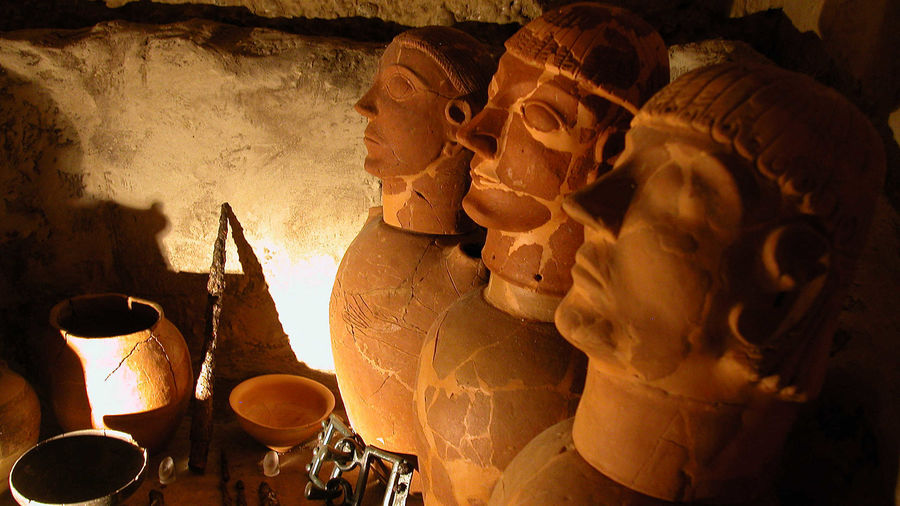 Etruscan Museum, Volterra, Italy