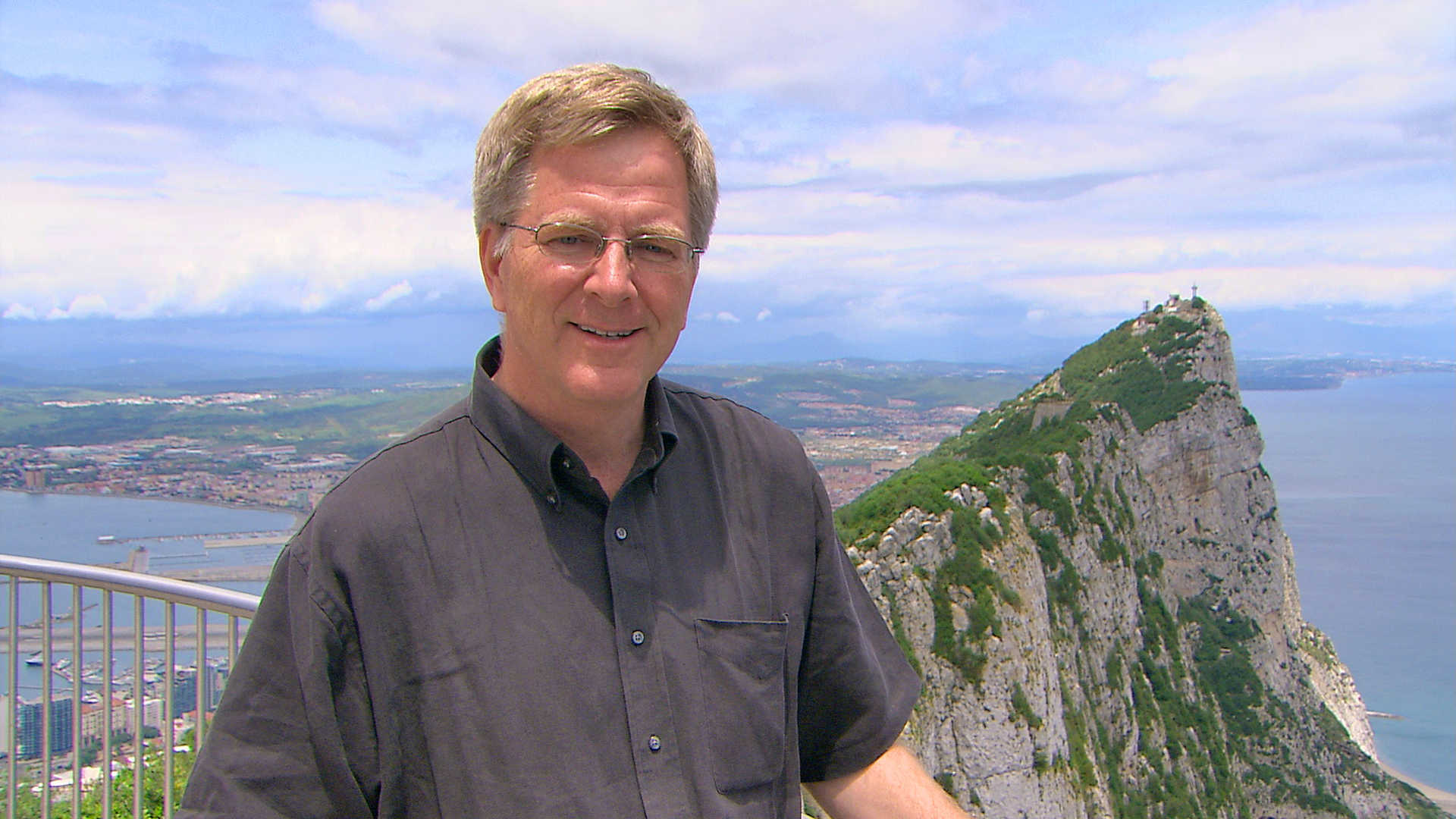 Rick Steves in Gibraltar